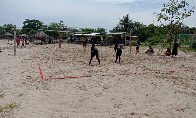 Atlet Bola Volly Pasir Binaan Kodim Pati Unjuk Gigi di ...